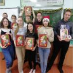 Подарки вручены на классных часах активным ученикам движений РДШ и ЮИД.